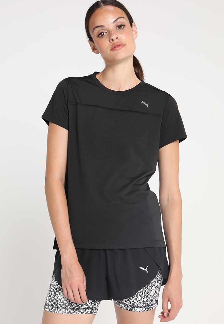 Puma - TEE - T-Shirt print - black