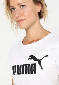 Puma - T-shirt imprimé - puma white - 3