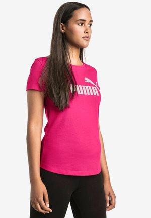 Print T-shirt - beetroot purple