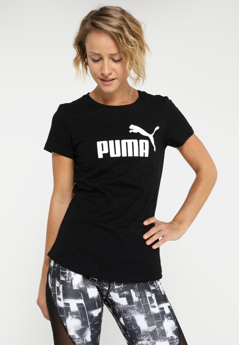 Puma - T-shirt imprimé - black