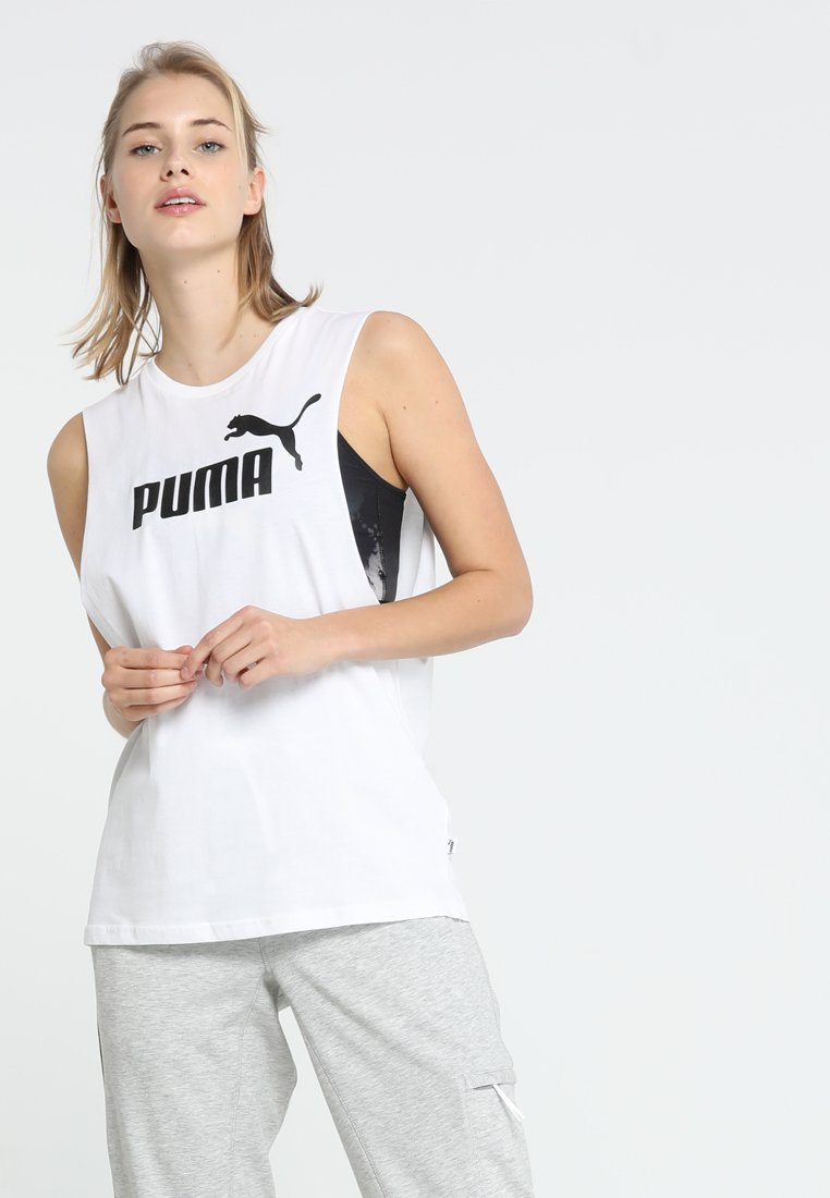 Puma - ESS CUT OFF TANK - Toppe - white