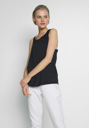 RACERBACK TANK - Sports shirt - black