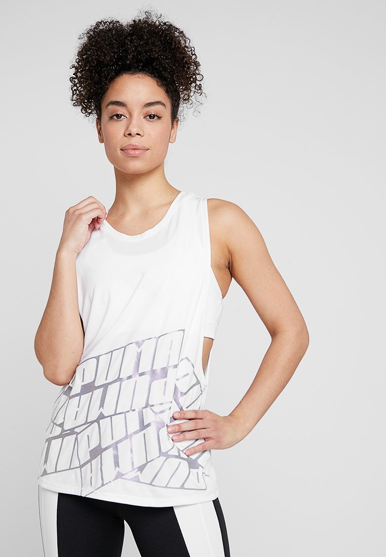 Puma - AIRE TANK - Funktionsshirt - white