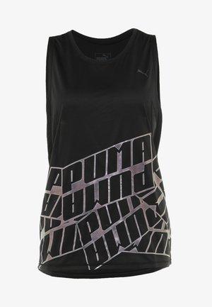 AIRE TANK - Sports shirt - black