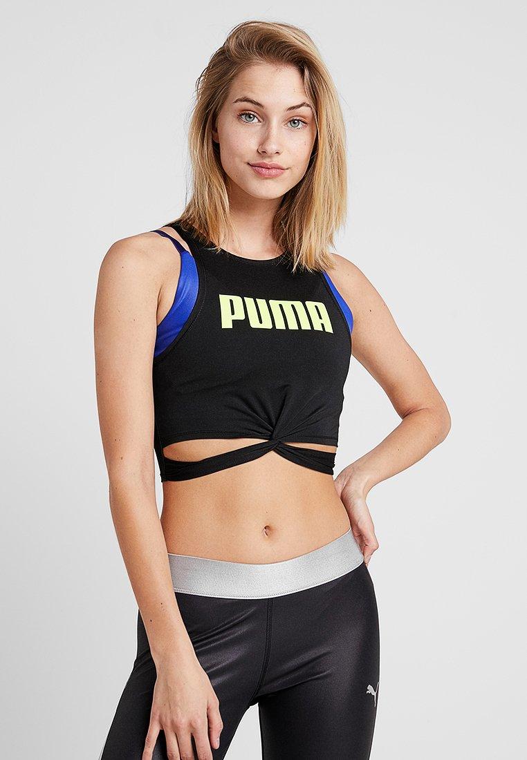 Puma - TWISTED - Funktionsshirt - black