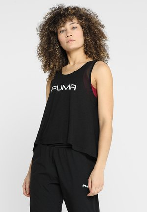 LOOSE TANK - Sports shirt - black