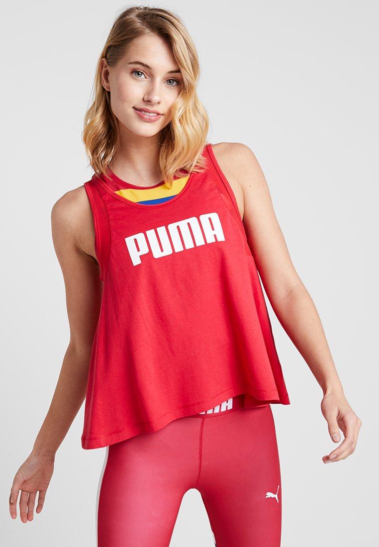 Puma - LOOSE TANK - Sports shirt - lipstick red