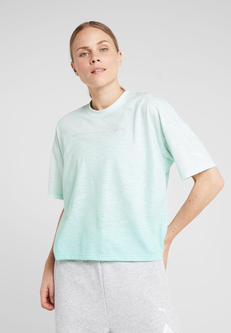 Puma - TEE - Camiseta estampada - fair aqua