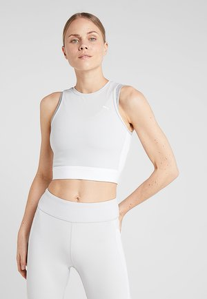 CROP - Top - glacier grey/puma white