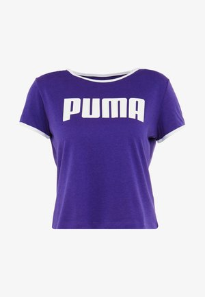 PERFORMANCE RETRO TEE - T-shirts med print - deep wisteria