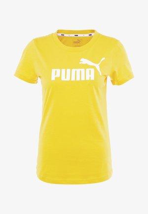 AMPLIFIED TEE - Print T-shirt - sulphur