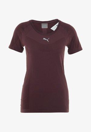 CORE SEAMLESS TEE - T-shirt print - vineyard wine
