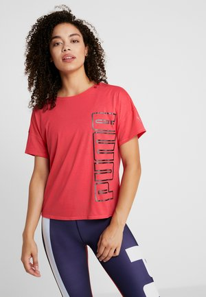 HIT FEEL IT TEE - Print T-shirt - rose