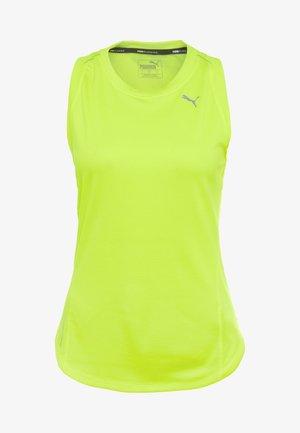IGNITE TANK - Sports shirt - yellow alert