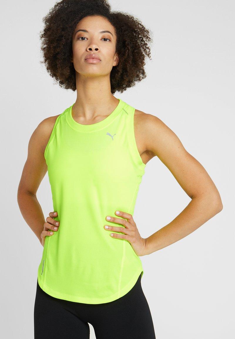 Puma - IGNITE TANK - T-shirt sportiva - yellow alert