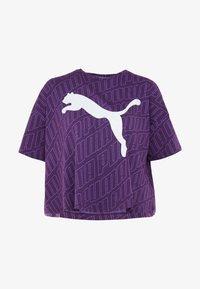 Puma - MODERN SPORT FASHION TEE - T-shirt con stampa - plum purple - 3