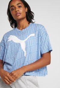 Puma - MODERN SPORT FASHION TEE - T-shirt con stampa - ultramarine - 4