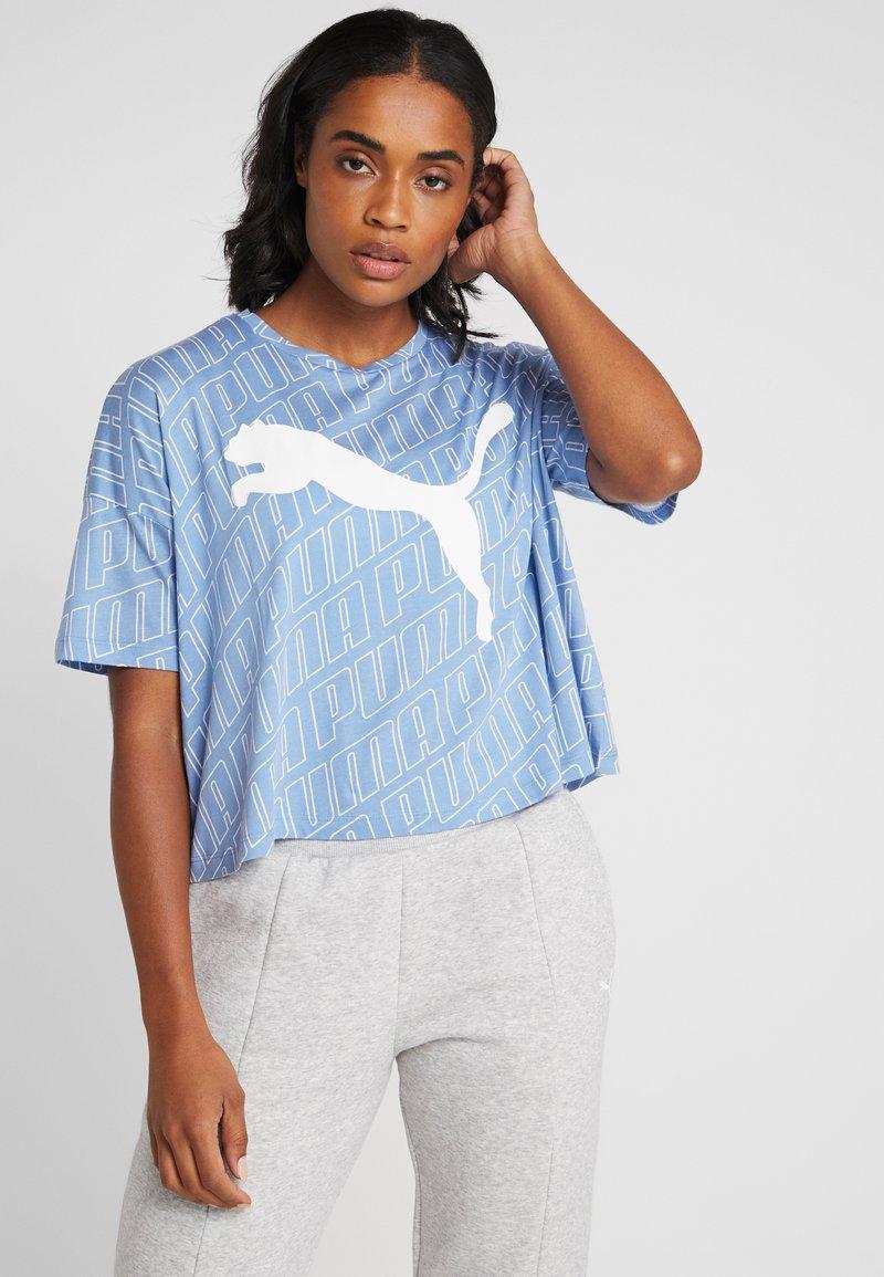 Puma - MODERN SPORT FASHION TEE - T-shirt con stampa - ultramarine