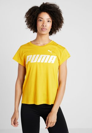 MODERN SPORT GRAPHIC TEE - Print T-shirt - sulphur