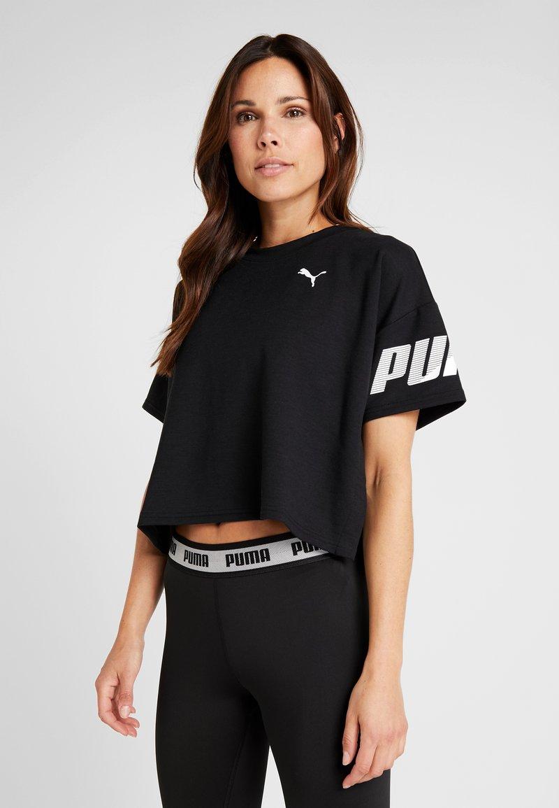Puma - MODERN SPORT TEE - Sweater - black