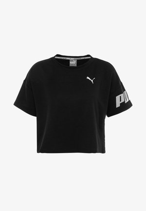 MODERN SPORT TEE - Sweatshirt - black