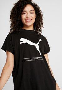 Puma - TILITY TEE - Camiseta estampada - black - 4