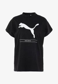 Puma - TILITY TEE - Camiseta estampada - black - 3