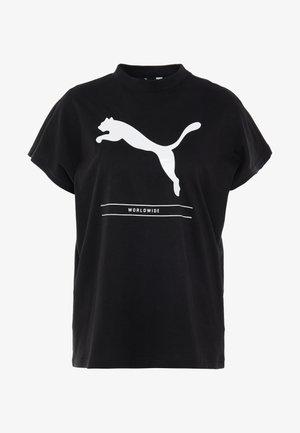 TILITY TEE - T-shirt print - black