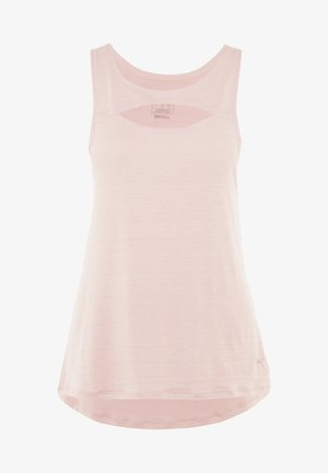 SHIFT TANK - T-shirt sportiva - bridal rose