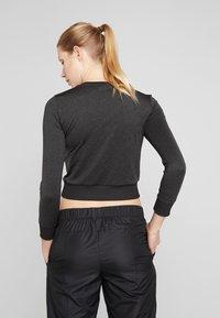 Puma - SOFT SPORTS TEE - Sportshirt - puma black heather - 2
