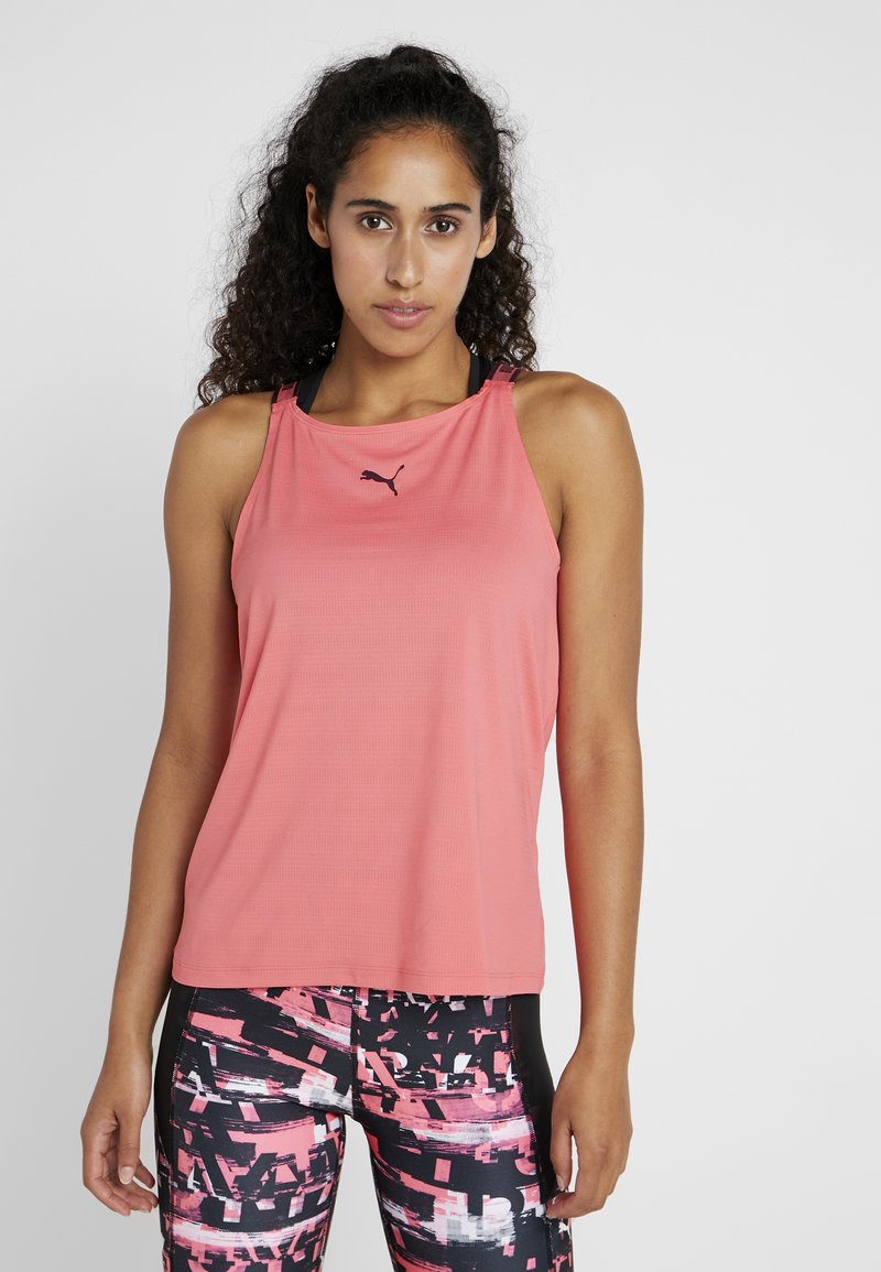Puma - SOFT SPORTS TANK - Funktionsshirt - calypso coral