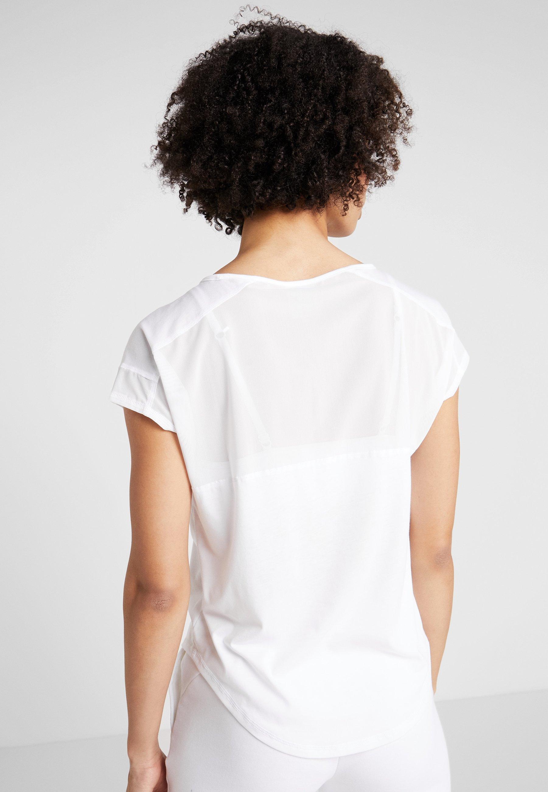 Puma STUDIO CAT TEE - T-Shirt print puma white