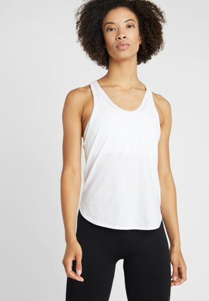 STUDIO TANK - Sports shirt - puma white