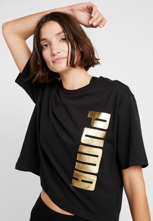 HOLIDAY PACK TEE  - T-shirt con stampa - black
