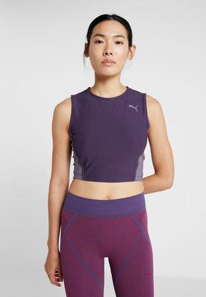MIDI TANK  - T-shirt sportiva - indigo