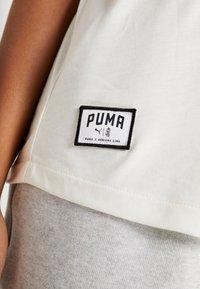 Puma - LOOSE FIT TANK - Treningsskjorter - white - 4