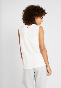 Puma - LOOSE FIT TANK - Treningsskjorter - white - 2