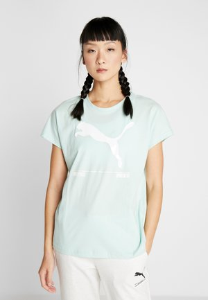 NU TILITY TEE - T-shirt con stampa - mist green