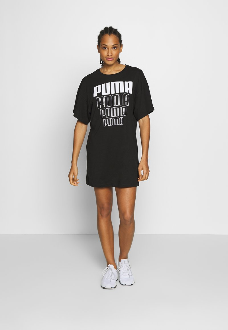 Puma - REBEL LIGHT WEIGHT TEE DRESS - Vestido de deporte - black