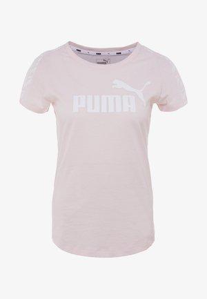 AMPLIFIED TEE - T-shirt imprimé - rosewater