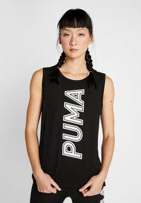 Puma - MODERN SPORTS TANK - Treningsskjorter - puma black - 0