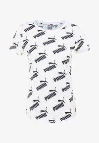 Puma - AMPLIFIED TEE - Funkční triko - white - 3