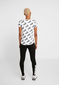 Puma - AMPLIFIED TEE - Funkční triko - white - 2