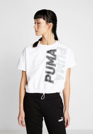 MODERN SPORTS TEE - Sweater - puma white