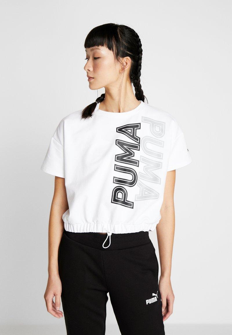 Puma - MODERN SPORTS TEE - Sweatshirt - puma white