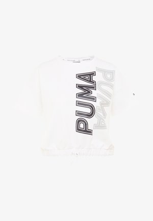 MODERN SPORTS TEE - Sweatshirt - puma white