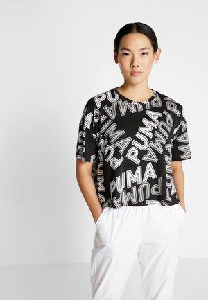 MODERN SPORTS FASHION TEE - T-shirt con stampa - black