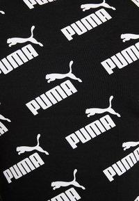 Puma - AMPLIFIED FITTED TEE - Triko spotiskem - black - 5