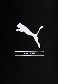 Puma - NU-TILITY FITTED TEE - T-shirt con stampa - black - 5