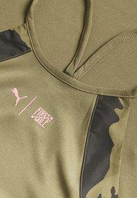 Puma - THE FIRST MILE TANK - Sports shirt - burnt olive - 2